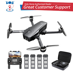 Holy Stone HS720 2K RC Drone with HD Camera 5G Brushless Foldable Quadcopter GPS $199.99