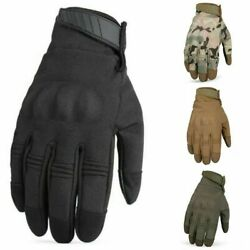 Touch Screen Waterproof Windproof Winter Gloves Tactical Hard Knuckle Gloves $24.39