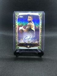 2014 Topps Chrome STS Camo Refractor 9599 Cody Hoffman #123 Rookie Auto $4.35