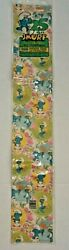 New Vintage 1982 Unopened Package Smurf All Occasion Gift Wrap Paper 25 Sq Ft.  $8.00