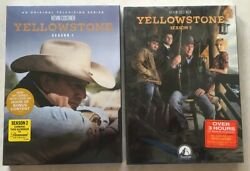 Yellowstone : The Complete Series Season 1 - 2 (DVD 2019 8-Disc Set) 1 $31.99