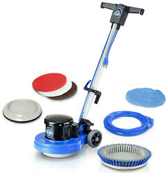 Prolux Core Heavy Commercial Polisher Floor Buffer Machine w all Pads