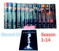Supernatural The Complete Series Seasons 1 14 DVD Fourteen New Free Shipping $134.51