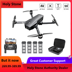 Holy Stone 4K HS720 Foldable RC Drone with HD Camera 5G Brushless GPS Quadcopter $249.99