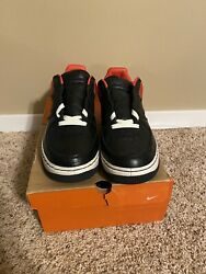 Air Force 1 Low Inside Out Max Orange Size 10 $200.00
