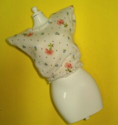 Vtg Barbie SUPERSTAR 80s Doll Clothes FASHION EXTRA Floral BLOUSE 1984 7964 $16.99