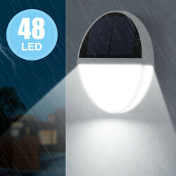 Solar Powered 48 PIR LED Garden Light Path Yard Decor Lamp Outdoor Waterproof US $15.39