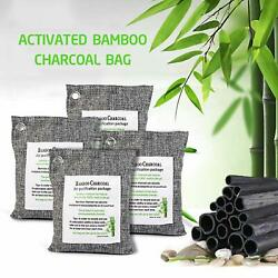 Air Purifying Bag Purifier Nature Fresh Charcoal Bamboo Mold Freshener 4 Bags $20.96