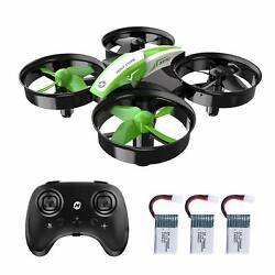 Holy Stone Mini RC Drone for Kid 3D Flips RC Quadcopter HS210 3 Batteries Gift $21.99