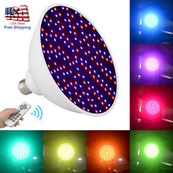 7-Color 45W 252LED 120V RGB Underwater Swimming Pool Light Lamp+Remote Control $56.99