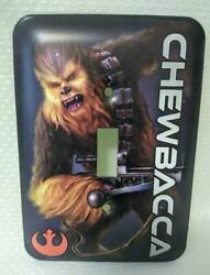 Cool Star Wars CHEWBACCA Light Switch Cover Plate Single Toggle Tin NEW $7.00