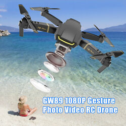 GLOBAL DRONE GW89 RC Drone Altitude Hold Foldable Quadcopter with 3 Battery K7Q9 $48.44