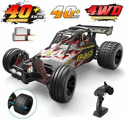 1:18 DEERC 9305E RC Cars High Speed 25 MPH 4WD Off Road Monster Truck 2 Battery $67.99