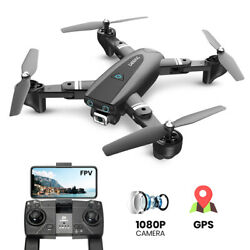 S167 GPS RC Drones with 1080P HD Camera Foldable RC Quadcopter Follow Me 17 Mins $79.99