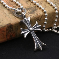 Chrome Hearts Cross Pendant S925 Sterling Silver $85.00