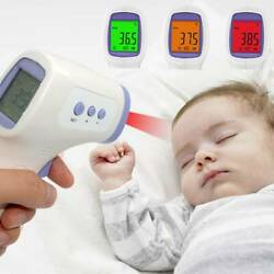 LCD Non-Contact Digital Infrared Forehead Thermometer Baby Adult Temperature Gun $16.99