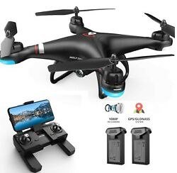 Holy Stone HS110G 1080P HD Video Camera FPV GPS Drones RC Quadcopter 3 Battery $129.99