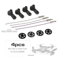 KIT 4x Motor 8520 CCW CW 4X Gear 4X Motor Cover for VISUO XS809 Quadcopter $8.89