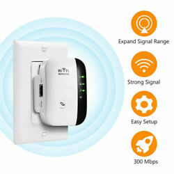 Home Wireless Wi-Fi Amplifier Blast WiFi WifiBlast Repeater Extender 300Mbps $13.99