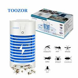 Toozor Electric Bug Zapper Mosquito Killer with UV Light Indoor Plug-in Bug Za $14.97