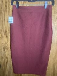 Red Pencil Skirt $4.50