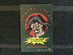 Grateful Dead Backstage Pass 6191995 Giants Stadium NY Zombie Marvel Comics