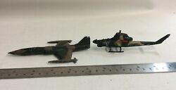 Lintoy F 104A Starfighter Corgi Us Army A 26 Helicopter A F GBP 10.00