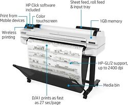 HP DesignJet T530 Large Format Wireless Plotter Printer - 24 5ZY60A  $1,696.00