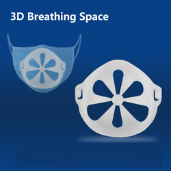 10pcs 3D Face Masks Bracket Mouth Separate Inner Stand Holder Breathing Space $7.99