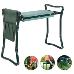 Heavy Duty Upgraded Garden Kneeler and Seat w/ Thicken & Widen Soft Kneeling Pad $34.73