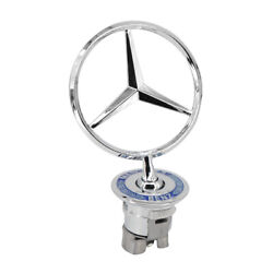 Star Front Hood Ornament Star Logo Emblem For Mercedes-Benz $15.99