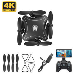 KY902 Mini Foldable Remote Control Quadcopter 4K HD Camera Drone RC Helicopter Z $9.03