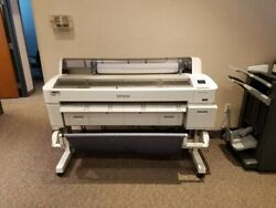 Epson SureColor SC-T7000 44 Printer CAD Plotter Wide Format Ethernet USB K213A $1.00