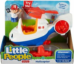 Fisher Price Little People Helicopter Vehicle Toy $24.99