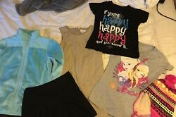 Girls size 10 12 clothing lot hat coat shirts dress 7 items $45.00