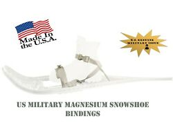 Snow Shoe Bindings 1 pair new US Military Universal w Instructions for 2 shoes $14.95