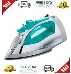 Sun beam Steammaster Steam Iron | 1400 Watt Large Anti-Drip Nonstick $20.92