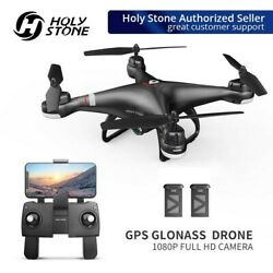 Holy Stone HS110G FPV Drone with HD Camera 1080P Selfie Quadcopter GPS Follow Me $73.94