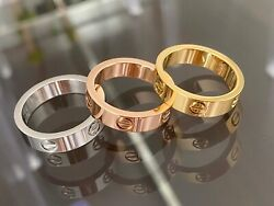Premium High Quality Stainless Steel Love Ring $16.99