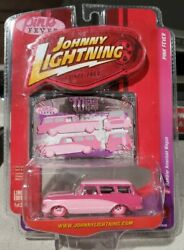 JOHNNY LIGHTNING PINK FEVER RAMBLER AMERICAN WAGON LIMITED ED FACTORY SEALED NEW $24.99
