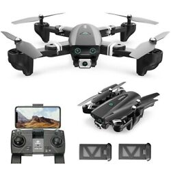 167 RC Drone with HD Camera 1080P Foldable GPS RC Quadcopter Follow Me 2 Battery $114.99
