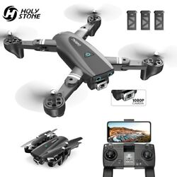 167 GPS RC Drone with HD Camera 1080P Foldable RC Quadcopter Follow Me 3 Battery $120.89