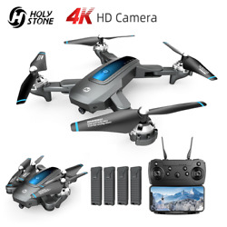 Holy Stone HS240 Foldable RC Drones with 4K HD Camera Selfie Altitude Quadcopter $79.99