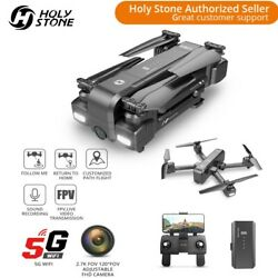 Holy Stone HS270 2.7K FPV Drone with HD 5G WIFI Camera Foldable Quadcopter GPS $129.99
