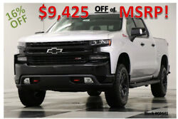 2020 Chevrolet Silverado 1500 MSRP$58915 4X4 LT Trail Boss Sunroof Silver Crew New Heated Leather Seats Camera 5.3L V8 Bluetooth Remote Start Bed Liner 19 2019 $49,490.00