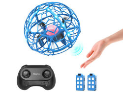 Hand Operated Drone Induction Levitation RC Quad 3D Flip Headless Toys 2 Battery $18.99