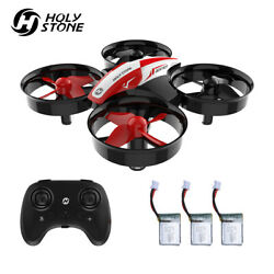 Holy Stone HS210 Mini Drone for Beginner Kids Gift 3D Flip Headless3 Batteries $23.99
