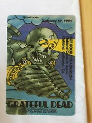 Grateful Dead Backstage Pass Skeleton Oakland 2191991