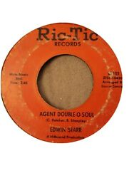 Northern Soul 45 EDWIN STARR Agent Double-O-Soul RIC-TIC HEAR $9.00
