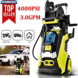 3800PSI 2.8GPM Electric Pressure Washer High Power CleanerWater Sprayer Machine $139.89